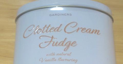 阪急百貨店 英国フェア2012 クロテッドクリームファッジ
