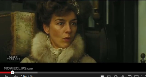 2013年公開 アンナ・カレーニナ ヴロンスキー伯爵夫人役 オリヴィア・ウィリアムズ