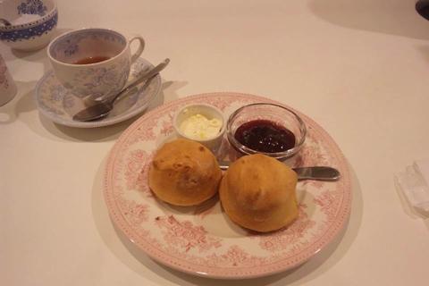 阪急百貨店2011 英国フェアで出展していた喫茶ブースのスコーン