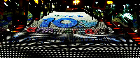 ICOCA10周年記念 京都駅イルミネーション