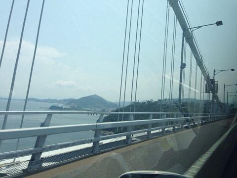 淡路島経由四国行き 明石海峡大橋