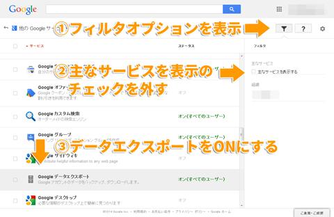 Google Appsで運用するGmailのデータエクスポート