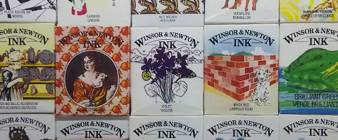 Winsor&Newton ドローイングインク