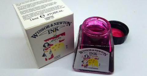 Winsor&Newton Carmine