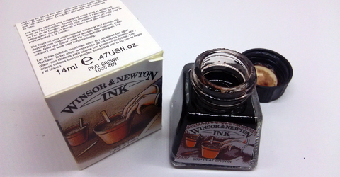 Winsor&Newton Peat Brown