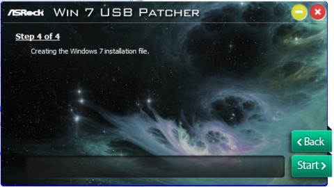 ASRock Windows7 USB patcherツールの使い方