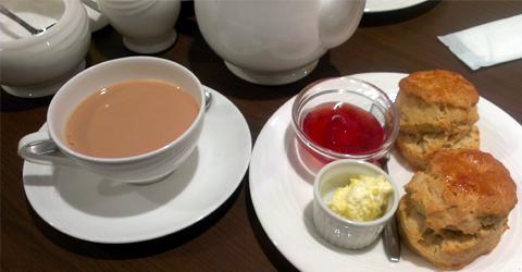 阪急百貨店 英国フェア2012 サヴォイのスコーン
