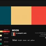 Adobe Kuler 色の組み合わせカタログ