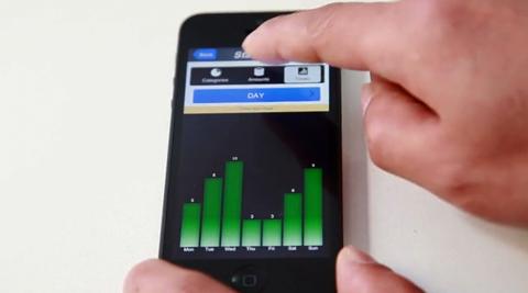Kickstarter Smart Wallit 新しい家計簿管理の方法。