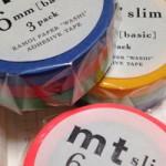 マスキングテープ「mt slim」