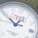 旧一澤頒布の時計