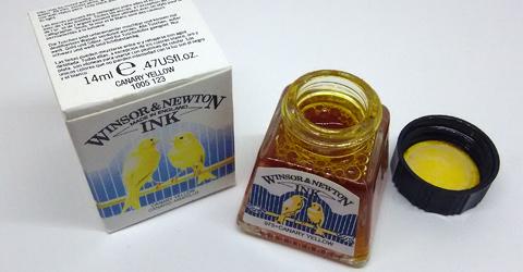 Winsor&Newton Canary Yellow
