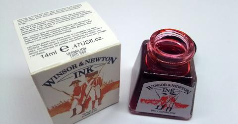 Winsor&Newton Vermilion