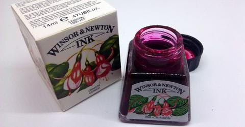 Winsor&Newton Crimson