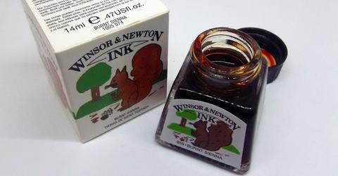 Winsor&Newton Burnt Sienna