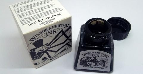 Winsor&Newton Black Indian Ink