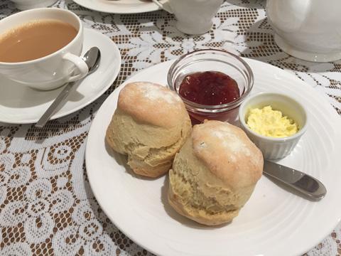 阪急百貨店 英国フェア2015 The Bridge Tea Rooms